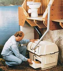 Centrex 1000 Central Composting Toilet System