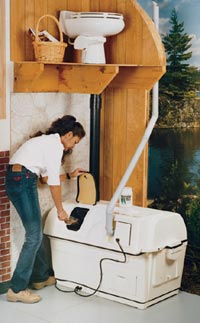 Centrex 2000 Central Composting Toilet System