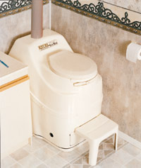 Excel AC/DC Composting Toilet
