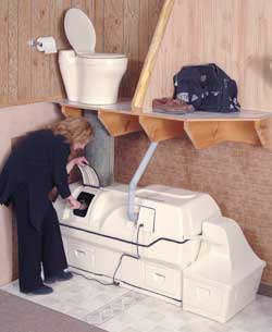 Centrex 3000 A/F Central Composting Toilet System