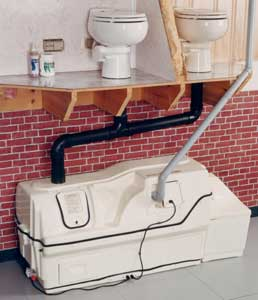 Centrex 3000 Central Composting Toilet System