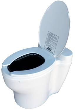 Sun-Mar Dry Toilet - Elongated
