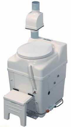 mobile composting toilet